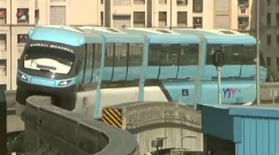 Mumbai monorail on track to boost transport