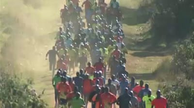 Athletes flock to race track in Kenya's Iten