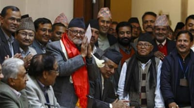 Sushil Koirala has four decades of political experience, but has never held a ministerial portfolio [Reuters]
