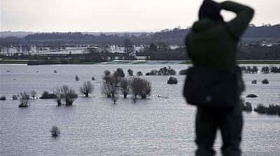 Flood alerts rise as storms batter Britain