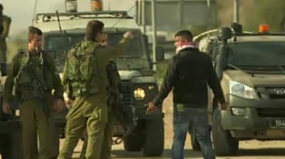 Activists evicted from West Bank village