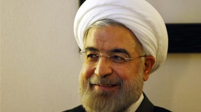 Iran's foreign policy is based on easing tensions and building confidence, Rouhani said [EPA]