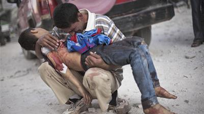 The UN says nearly 2.5 million people are now 'persons of concern' as a result of the conflict in Syria [AP]