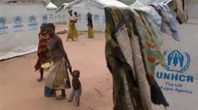 Thousands flee violence in DR Congo