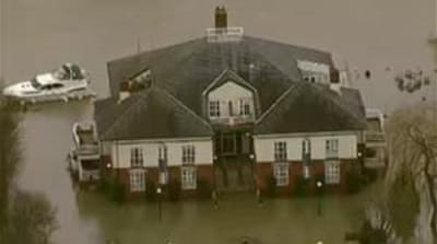 Floods across UK show no signs of letting up