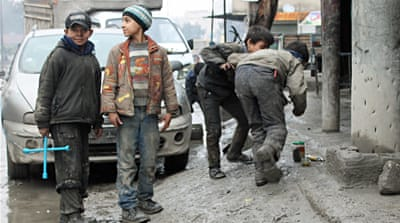 In Pictures: Aleppo's children hard at work
