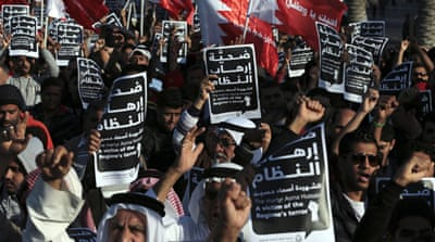 Clashes mark anniversary of Bahrain protests