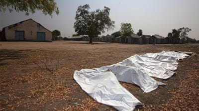 Smell of death lingers in South Sudan's Bor
