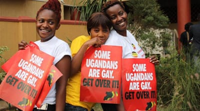 The anti-homosexuality bill has drawn condemnation from human rights groups [Al Jazeera]