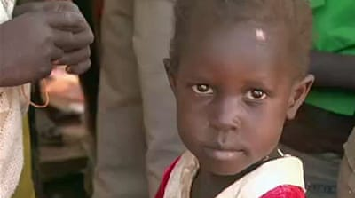 S Sudan refugees treated for measles in Kenya