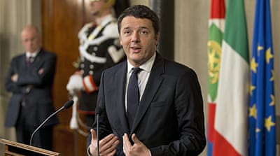 At age 39, Prime Minister Matteo Renzi is the youngest leader in the nation's modern history [AP]