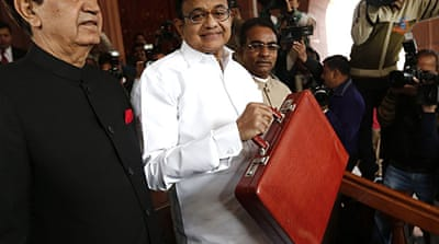 P Chidambaram said the Indian economy was starting to grow faster [Reuters]