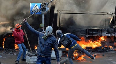Kiev 'radicals' blamed for fuelling violence