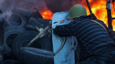 In Pictures: Kiev crackdown