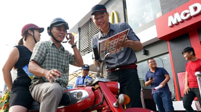 McDonald's takes a bite out of Vietnam