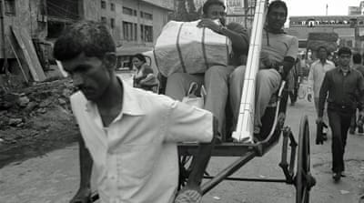 In Pictures: India's last rickshaw pullers