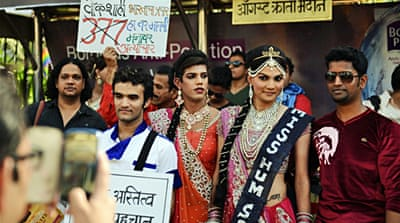 In Pictures: Mumbai's gay pride parade