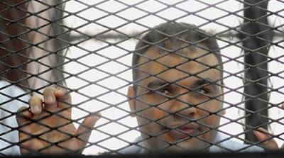 Mohamed Badr's acquittal comes days after the UN condemned a clampdown on the media in Egypt [AP]