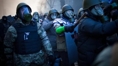 Violence, death and a failed political process in Ukraine