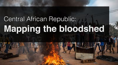 Mapping Central African Republic's bloodshed