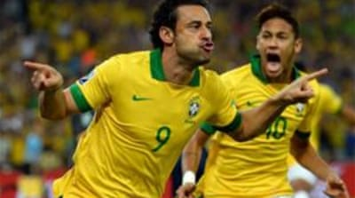 Fans had been jeering their side ahead of the Confed Cup that Brazil won [AP]