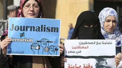 Journalism on trial in Egypt