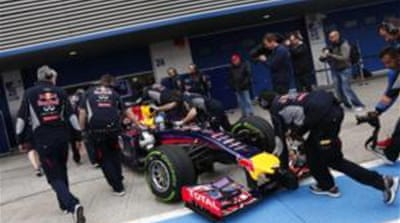 Red Bull managed 14 laps over four troublesome days in Jerez last month as well [Reuters]