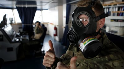 Syria 'has given up a third of chemical arms'