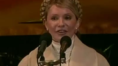 Jailed opposition leader Tymoshenko freed