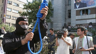 The majority of executions in Iran are by hanging and are handed down for drug-related offences [GALLO/GETTY]