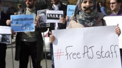 #FreeAJStaff in Egypt