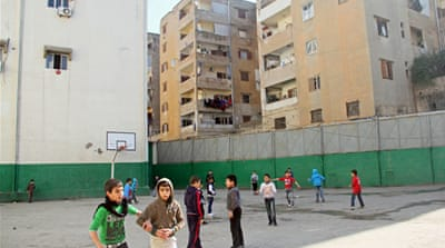 Lebanese students caught in the crossfire