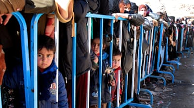 Thousands of Syrians have fled into neighbouring Lebanon since the conflict began in 2011 [EPA]