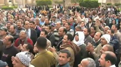 Egypt hit by a wave of strikes and protests