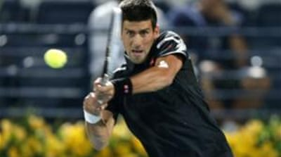 The Dubai Championships is Djokovic's second appearance of the year after the Australian Open [Reuters]
