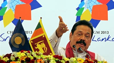 Rajapaksa hit back at critics, saying he had appointed a Lessons Learned and Reconciliation Commission [EPA]