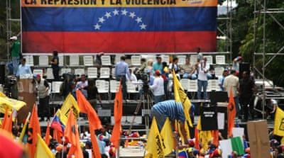 Opponents of Maduro have been staging countrywide protests since February 12 [Chris Arsenault/Al Jazeera]