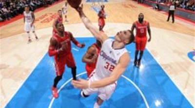 Blake Griffin's (32) effort helped Clippers beat the Rockets for the third time running [AFP]