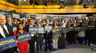 Al Jazeera launches global push to free staff