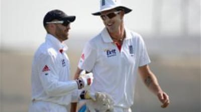 Matt Prior (left) was dropped for the last two Ashes Tests due to poor form  [GALLO/GETTY]
