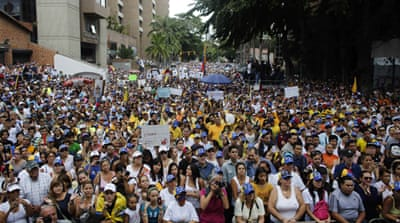 Venezuela protests continue despite holiday