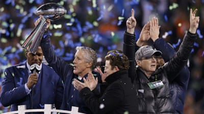 Seahawks win first Super Bowl title