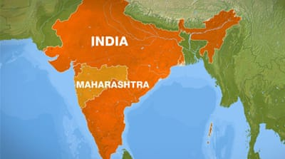 "The map shows the ""Red Corridor"", where the Maoists are active [File: Al Jazeera]"