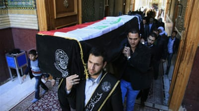 In other violence, a car bomb killed four people and wounded 28 in the town of Tuz Khormato [AP]