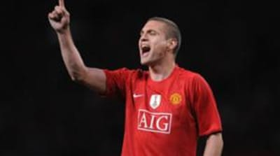 Vidic, who joined from Spartak Moscow for £7m, has been the club captain since the 2010-11 season [Getty Images]
