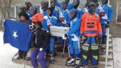 Bandy, a forefather of ice hockey, has taken Somalia to the World Championships in just seven months [Paul Rhys]