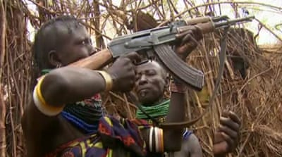 Armed guards protect herders in north Kenya