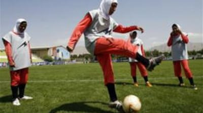 The hijab or the turban will need to be of the same colour as the team jersey [AFP]