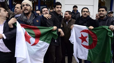 Algeria ends rally over president re-election