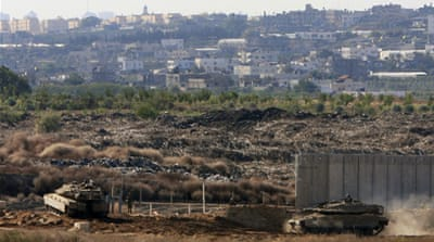 The Israeli military considers the area near the border a no-go zone for Palestinians [File: AP]